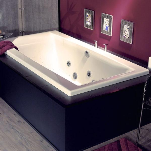 Jade Rectangular Tub