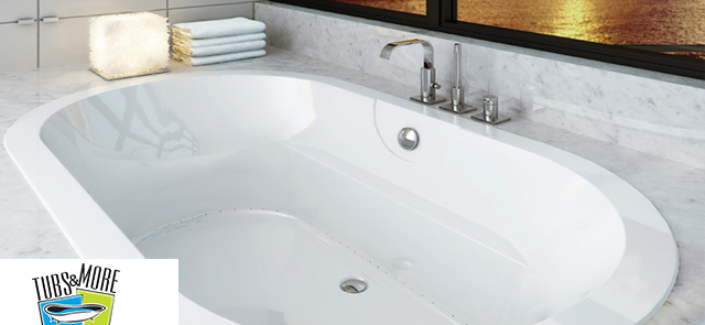 Summer sales large bathtubs bathtub vanities more for Whirlpool tubs on sale
