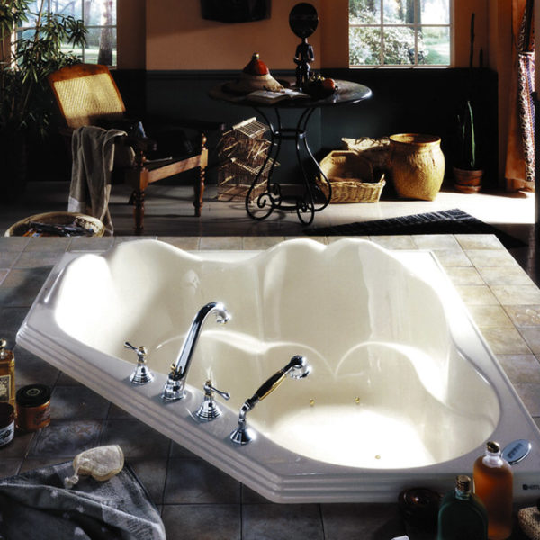 Orphee Corner Bathtub