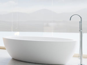 Dado Palm Freestanding Bathtub