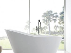 Jet Massage Acrylic Freestanding Bathtub