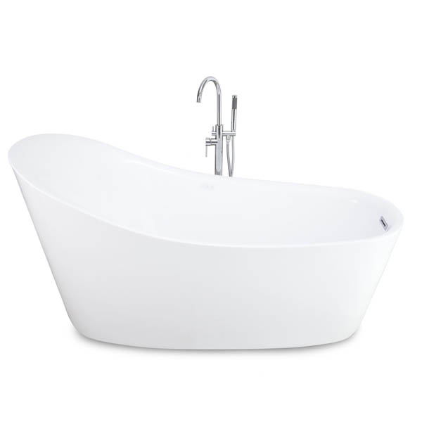 Jet Massage Acrylic Freestanding Bathtub