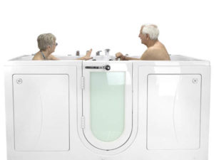 Ella Acrylic Walk In Tubs For Two