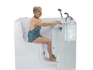 Ella Acrylic Transfer Wheelchair Accessible Walk In Tubs