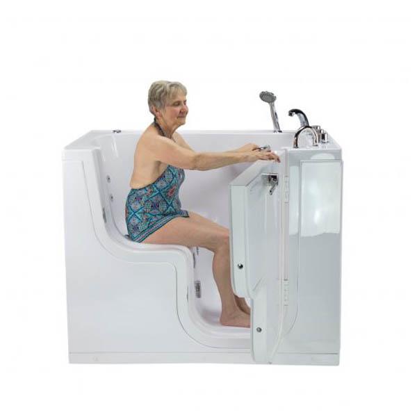 Ella Acrylic Transfer Wheelchair Accessible Walk In Tubs