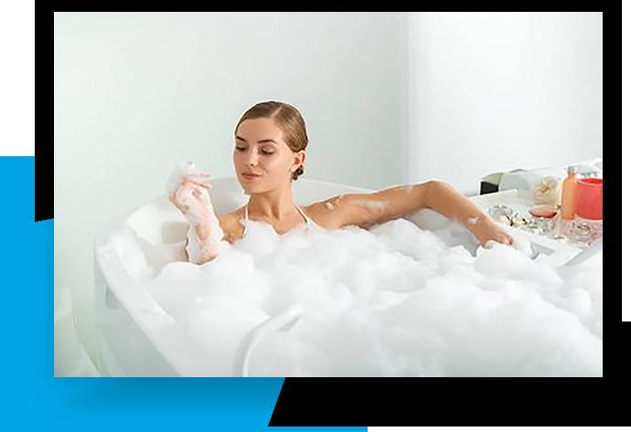 Jason Hydrotherapy Microsilk Bathtubs