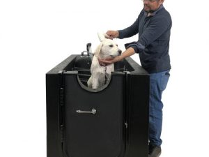 Microbubble Therapy Dog Or Pet Walk-in Spa With Ozone Sterilization