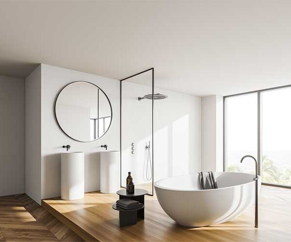 Turning Up Your Bathroom Style: Freestanding Tubs And More